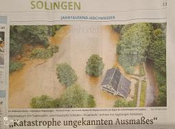 Solinger Tageblatt vom 16. Juli 2021